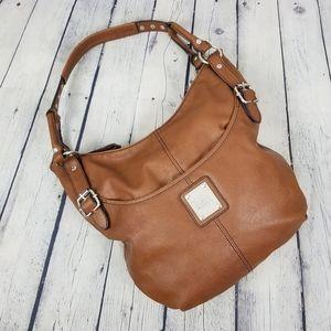 RELIC   vegan leather slouchy hobo shoulder bag